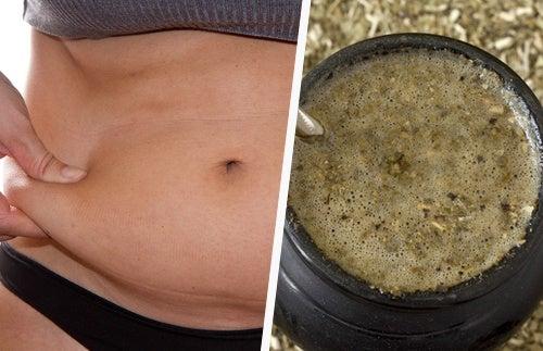 hai perso peso bevendo tè verde