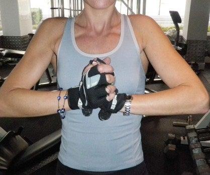 Esercizio tonificare il seno