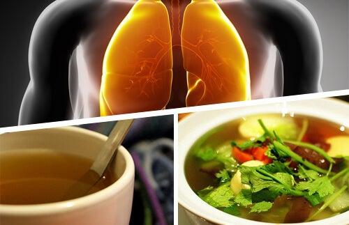 Polmoni e alimentazione