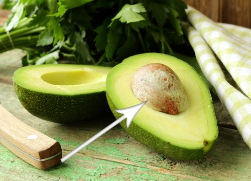 il seme dell'avocado