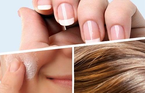 Alimenti per migliorare capelli, pelle e unghie