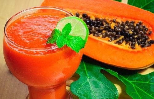 Estratto di papaya