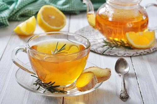 tè di zenzero per rafforzare il sistema immunitario