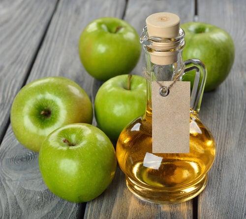 Aceto di mele per seni paranasali