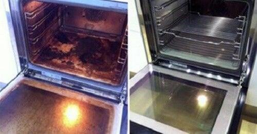 Pulire il forno con i prodotti naturali