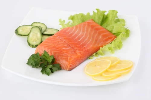 Salmone e pesce nella dieta
