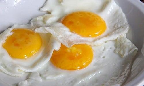 Uova con tuorlo sciolto