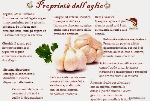 7 usi e benefici dell'aglio per la salute