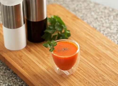 frullato carote per ipertensione