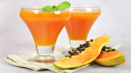 succo di papaya per il colon