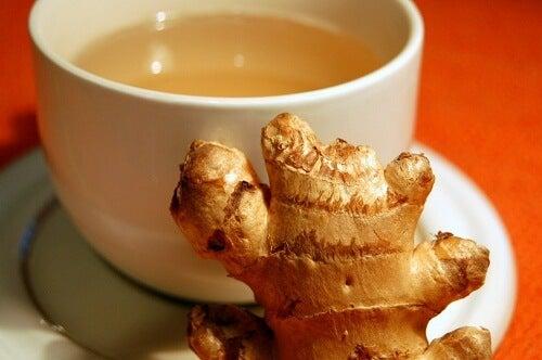 tè di zenzero