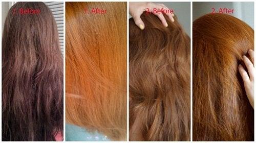 Trucchi per schiarire i capelli semplici e naturali