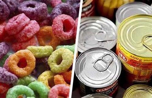Sostanze tossiche, le 12 più pericolose negli alimenti trasformati