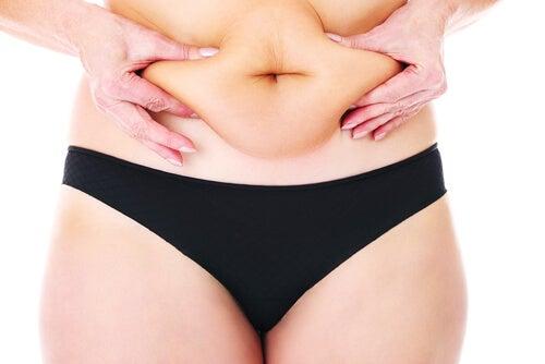 la pancia e la dieta