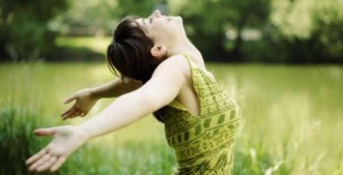 donna felice senza depressione