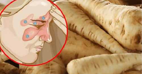 Sintomi della sinusite addio, con il rafano rusticano