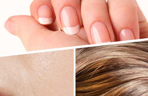Frullati per rafforzare capelli, pelle e unghie