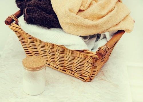 Asciugamani bucato