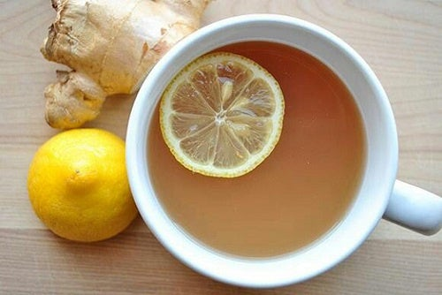 infuso zenzero e limone