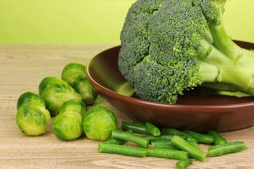 Broccoli ricchi di calcio
