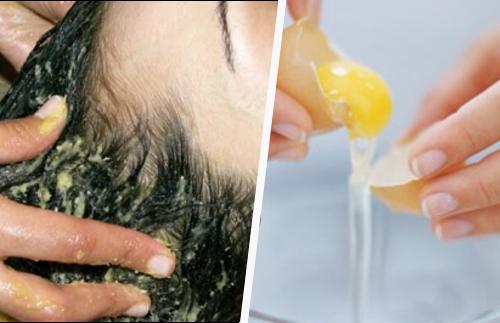 Scoprite come lavare i capelli con il tuorlo dell'uovo