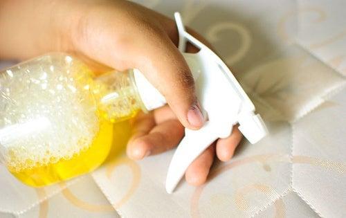 Disinfettare il materasso in modo naturale