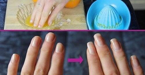 Sono molti i trattamenti naturali in grado di indurire le unghie