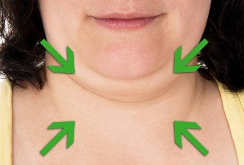 come perdere grasso sul doppio mento
