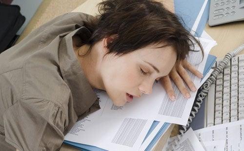 dormire sul lavoro