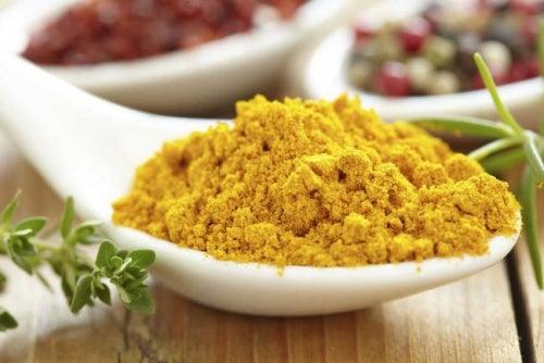 curcuma nella cucina indiana