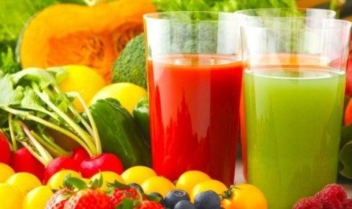 dieta purificante per la pelle pulizia dei reni alle erbe