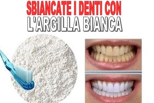 Prodotti per i denti del tutto naturali