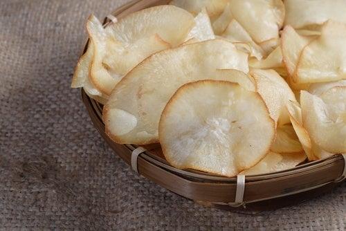 Patatine di tapioca