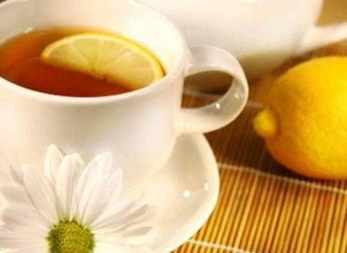 tè scorza di limone