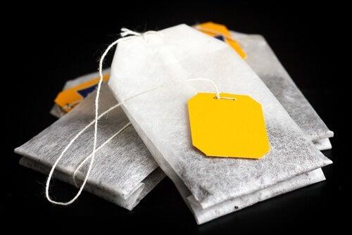 11 modi per riciclare le bustine del tè