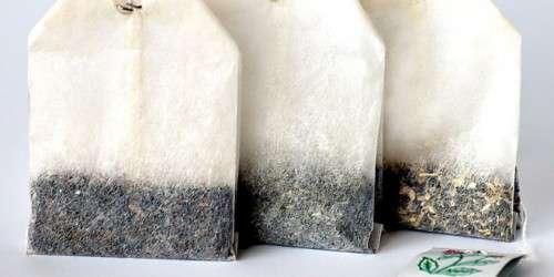 Come riutilizzare le bustine di tè o caffè