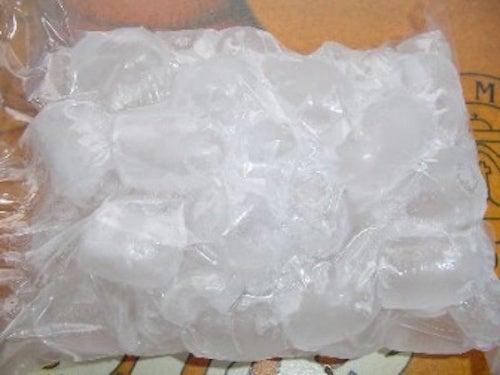 Busta di ghiaccio