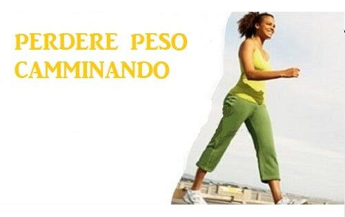 Camminare per perdere peso: come farlo correttamente