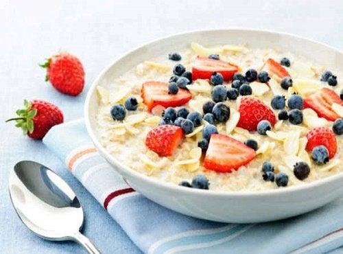 Avena a colazione