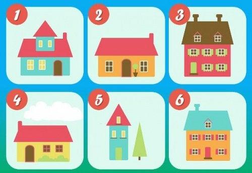 Il test delle 6 case