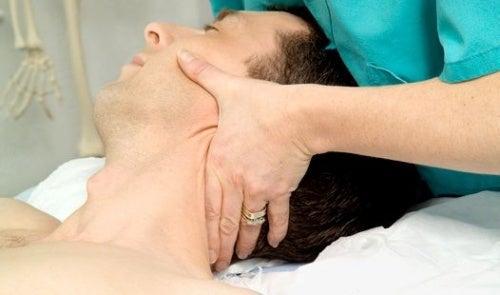 Cervicale Spina dorsale Massaggio