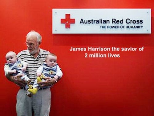 James Harrison Blood donar