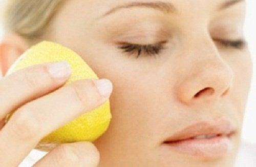 Maschere naturali al limone