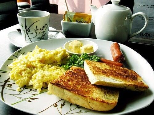 colazione ricca