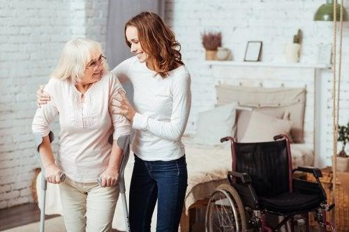 Cura degli anziani