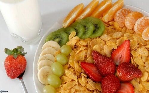 una colazione sana