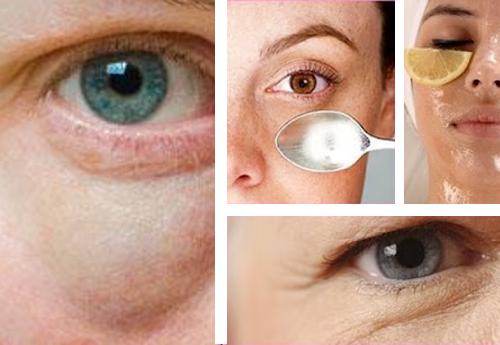Maschere sulla persona con vitamine A ed e