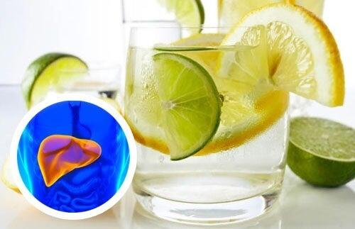 Prendersi cura di cuore e fegato con acqua tiepida e limone