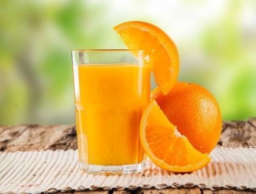 Arancio e vitamina C