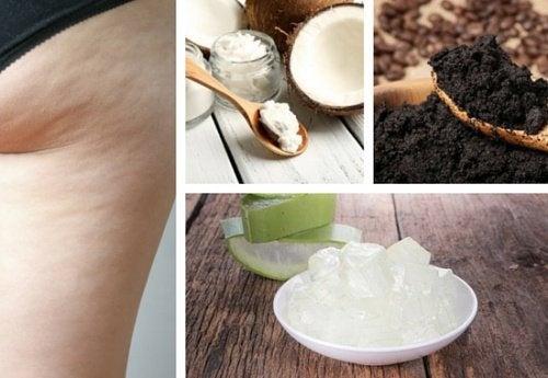 Creme naturali per attenuare l'aspetto della cellulite